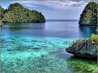 photo de paysage marin aux philippines