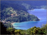 photo de la cote nord de trinidad