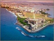 photo de porto rico vu du ciel