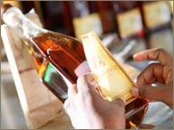 photo de bouteille de rhum atlantico