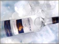 photo de rhum Longueteau 62° dans la glace