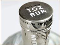 photo de bouchon de bouteille de rhum TOZ